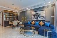 This apartment in Vinhomes Landmark 81 has the beautiful design you deserve and lease rate you'll love