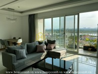Spacious and brilliant design 3 bedrooms apartment in Xi Riverview