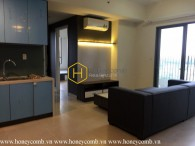 Nice designed with apartment with 2 bedrooms in Masteri Thao Dien for rent