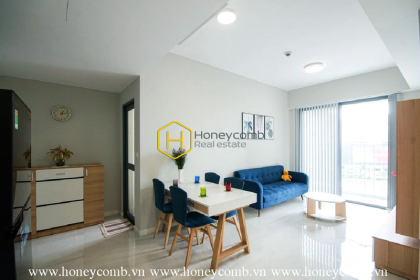 The 2 bedrooms-apartment with modern style is very nice in Masteri An Phu