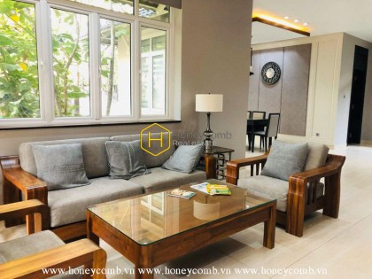 Don't wait anymore! This beautiful Villa in District 2 is now ready for lease!