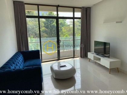 The fully furnished 1 bedroom-apartment with nice view in City Garden