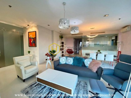 Spacious and sun filled 4 bedrooms apartment in City Garden