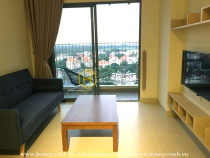 Masteri Thao Dien 2-bedrooms apartment with river view for rent