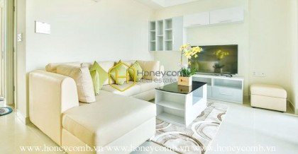Masteri Thao Dien 2 beds apartment with pool view and river view for rent