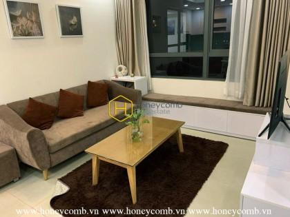 Masteri Thao Dien 2 beds apartment park view for rent