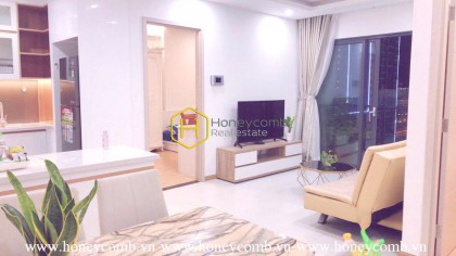 You will be impressed by this modern 3 bedrooms-apartment in New City Thu Thiem