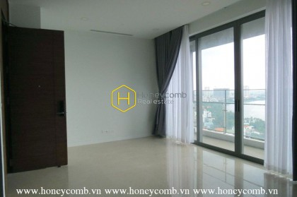 Create your own home-Brand new, unfurnished and clean apartment in Nassim Thao Dien