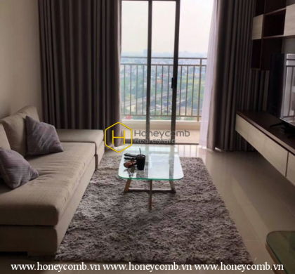 Simple and welcoming design apartment for rent in The Sun Avenue