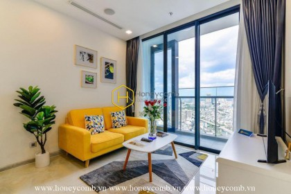 Enhance your lifestyle with this youthful apartment in Vinhomes Golden River for rent