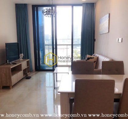 The homey and convenient apartment in Vinhomes Golden River is waiting for you to move-in