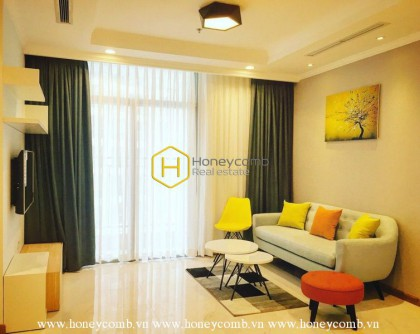 Bright and full of light apartment for lease in Vinhomes Central Park