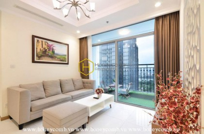 Excellent! Is how to describe the beautiful level of this apartment for rent in Vinhomes Central Park