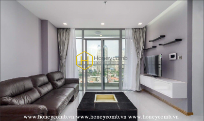 You definitely can't take your eyes off this stunning apartment for lease in Vinhomes Central Park
