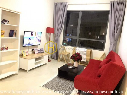 Wonderfull one bedroom with modern furniture in Masteri for rent.