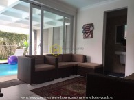 Aesthetic villa inspired by Indochine and contemporary style for rent in District 2