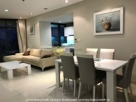 Fantastic 2 bedroom apartment with nice furnished in City Garden