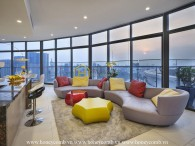 The TOP-NOTCH place of hustle Saigon is this City Garden penthouse