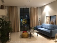 A harmonized combination of glamor and swag in City Garden apartment