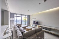 Spacious 3 beds apartment with new furniture in City Garden