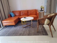 3 beds apartment simple furniture in The Estella Heights for rent