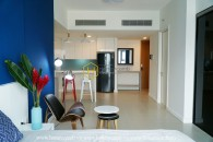 Radiant studio apartment with full furniture in Gateway Thao Dien
