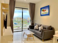 Enjoy your modern life with this artistic 2 beds apartment for rent in Masteri An Phu