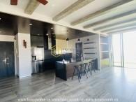 Căn Penthouse 3 phòng ngủ với nội thất rất hiện đại tại Masteri Thảo Điền cho thuê