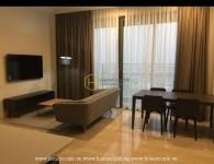 Căn hộ 2 phòng ngủ tại The Nassim Thảo Điền, hướng nhìn ra sông, cho thuê