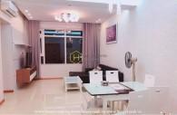 Một căn hộ cho thuê ở Saigon Pearl ngập tràn sự tinh tế và tỉ mỉ