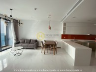 Gentle with vibrating design in the Sunwah Pearl apartment
