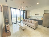 You will feel more comfortable when getting into this modern Vinhomes Golden River apartment