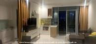 Cho thuê căn hộ theo phong cách tối giản tại Vinhomes Central Park