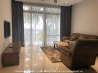 Impressive dark design in The Vista apartment