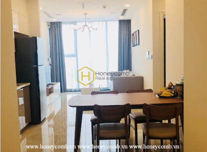 A brand new fully furnished apartment for rent in Vinhomes Golden River
