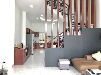 The amazing house at District 2 : a strong proof of modern and stylish life