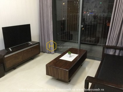 Nice view 2 beds aparmtent with open kitchen in Masteri Thao Dien