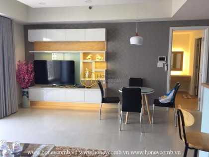 Three bedroom apartment with modern style and river view in Masteri for rent