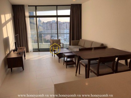 Newly furnished 2 bedrooms apartment in City Garden