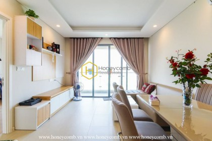 Get various emotions in the ultimate contemporary apartment of Diamond Island