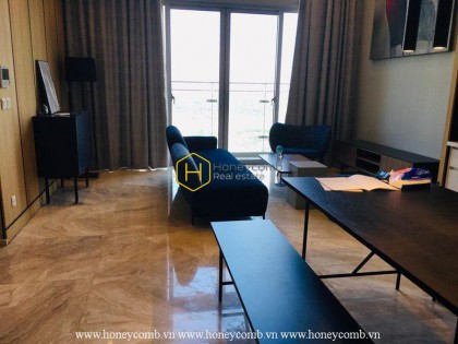 The duplex apartment with ultra modern and elegant design at Estella Heights