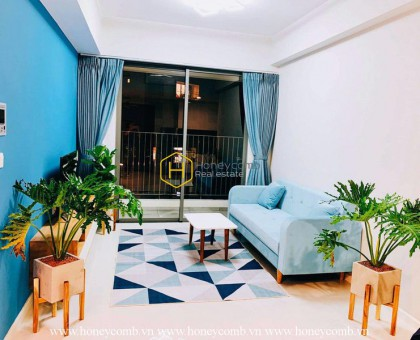 The 2 bed-apartment with Tropical style is so fresh and young at Masteri An Phu