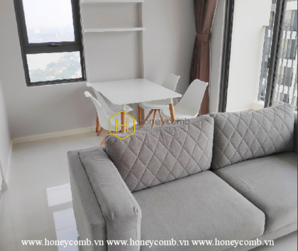 Alluring architecture in Masteri An Phu apartment for rent