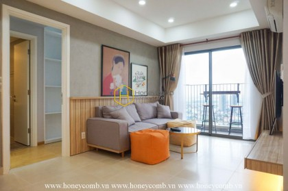 Wonderful 2 bedroom apartment with nice furnished in Masteri Thao Dien