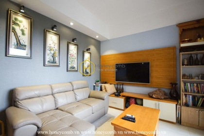 Commodious 2 bedroom apartment in Masteri Thao Dien for rent