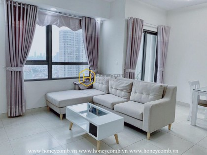 The bright 2 bedroom-apartment with good-looking design and reasonable price from Masteri Thao Dien