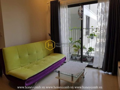 The prominence of this 2 bed-apartment makes it become your great choice at Masteri Thao Dien