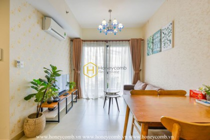 The Top-notch apartment in Masteri Thao Dien - Rustic but not boring, simple but classy