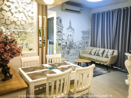 Apartment for rent in Masteri Thao Dien  with unique Asian architecture