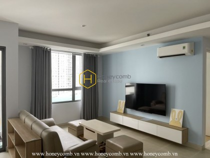 Cheap and bright apartment for rent in Masteri Thao Dien